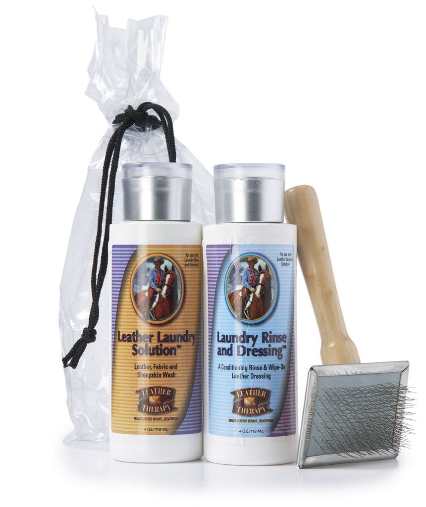 Fleeceworks sheepskin care set
