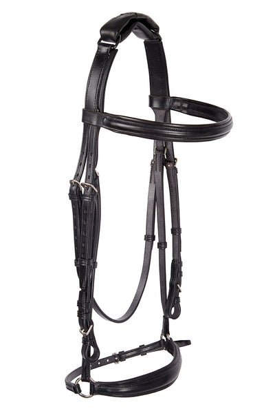 Freeflex drop noseband bridle