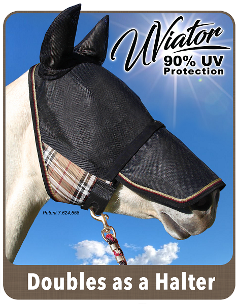 Kensington UViator fly mask with nose