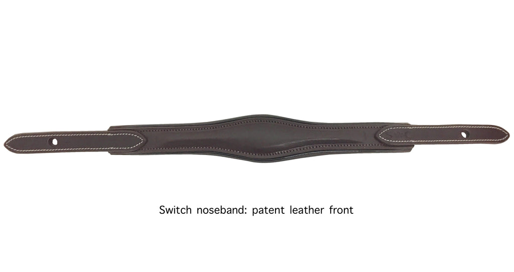 "Silver Crown ""Switch"" noseband additional parts"