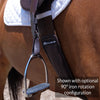 Total Saddle Fit Slim (Webbers-style) Stability wide stirrup leathers