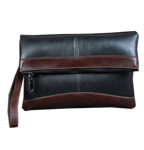 Pochette homme cuir