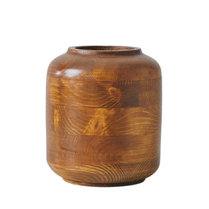 "Big ""Hardy"" - Wooden Vase"