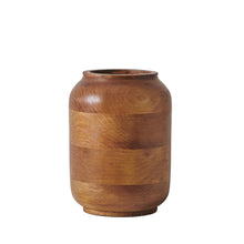 "Load image into Gallery viewer, Big ""Laurel"" - Wooden Vase"
