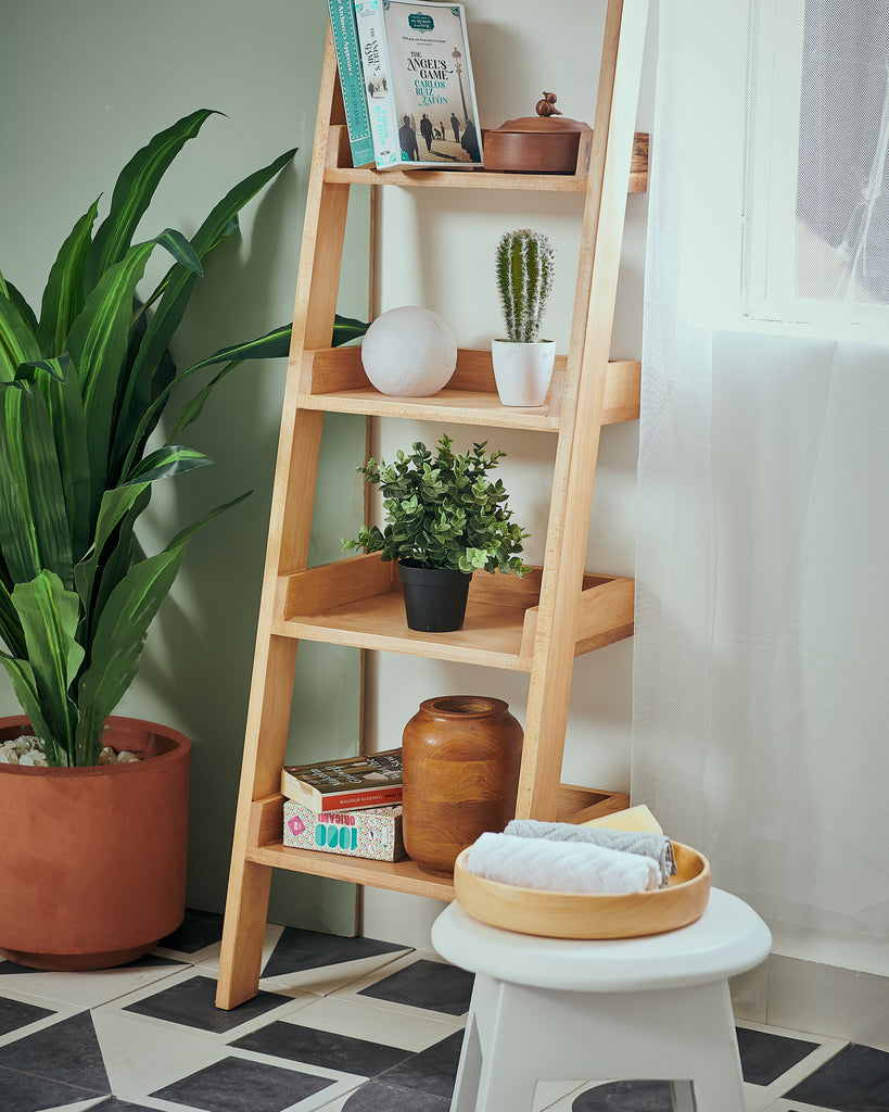 """Leaning-L"" - Shelving Unit"