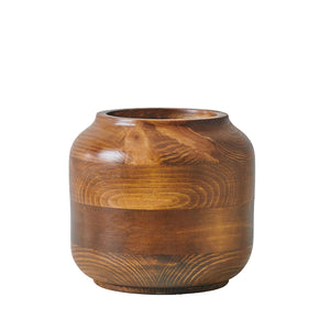 "Small ""Hardy"" - Wooden Vase"