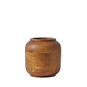 "Small ""Laurel"" - Wooden Vase"