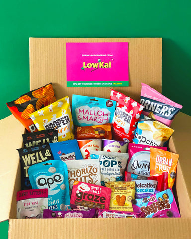 Low Calorie 30 item surprise subscription box