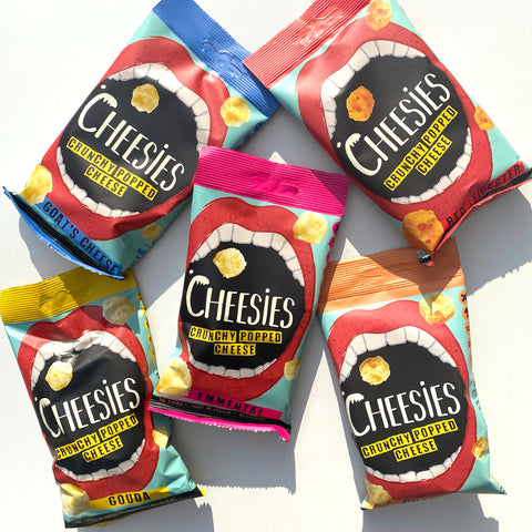 Cheesies in all flavours