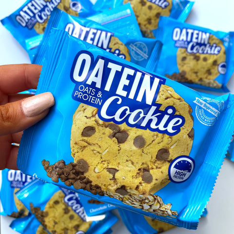 Oatein chocolate chip protein cookie