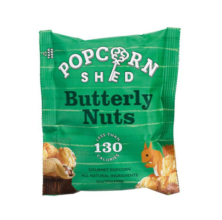 Popcorn Shed - Butterly Nuts Snack Pack - 26g