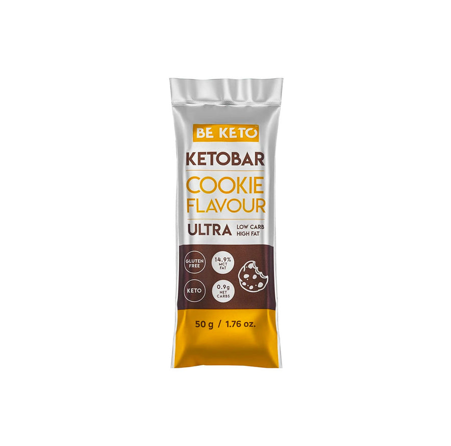 BeKeto - Keto Bar - Natural Cookies - 50g