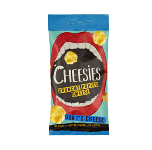 Cheesies - Crunchy Popped Cheese - Goats Cheese 20g