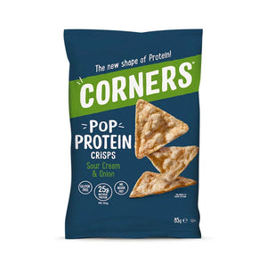 Corners - Pop Protein Crisps, Sour Cream & Onion 85g
