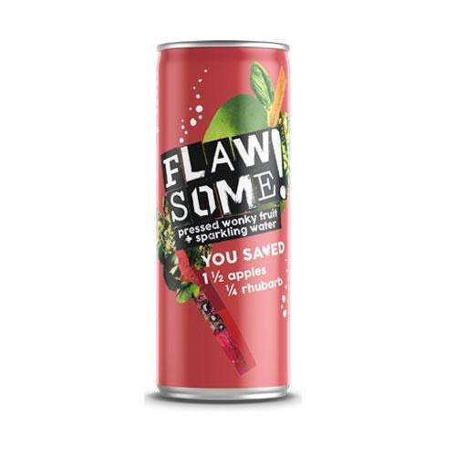 Flawsome! Sparkling Juice - Apple & Rhubarb 250ml