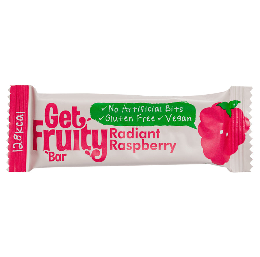 Get Fruity Radiant Raspberry Oat Bars 35g