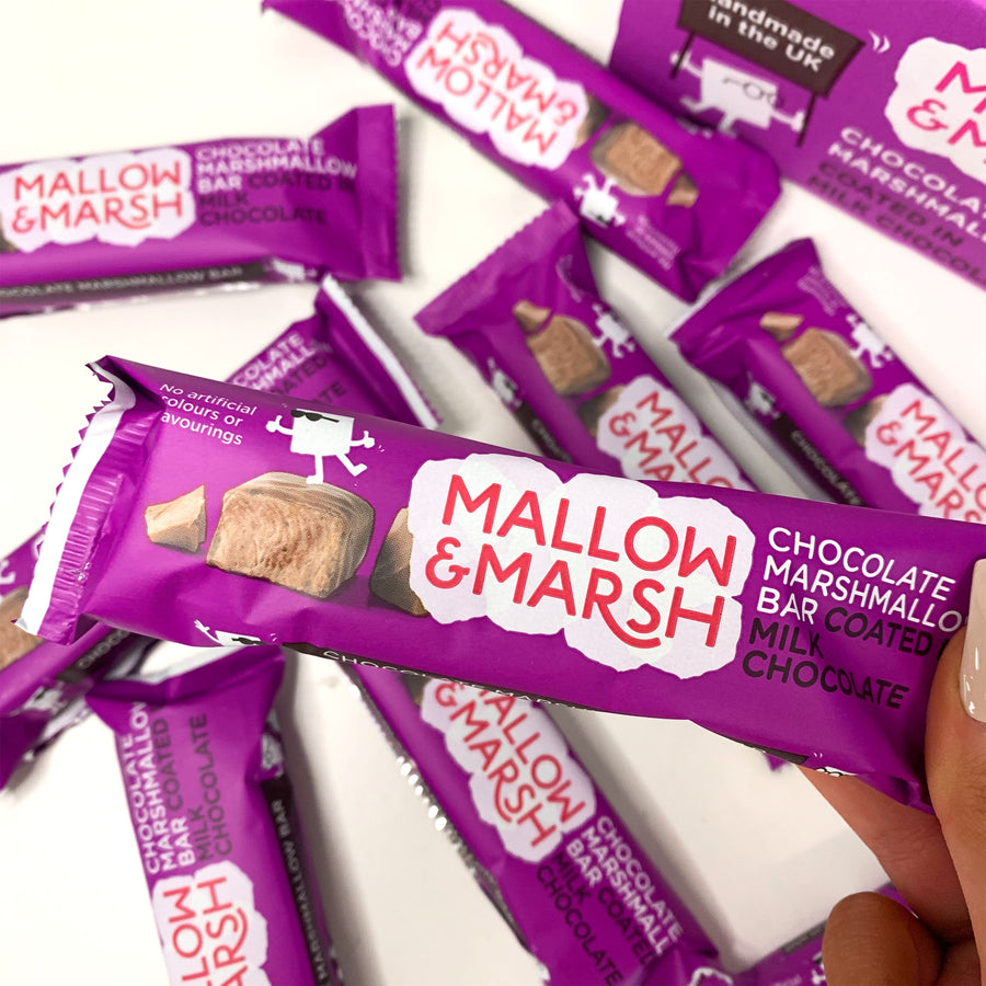 Mallow & Marsh - Double Chocolate Marshmallow Bar 35g