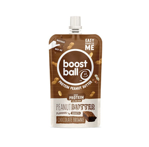 BOOSTBALL CHOCOLATE BROWNIE PEANUT BUTTER 45g