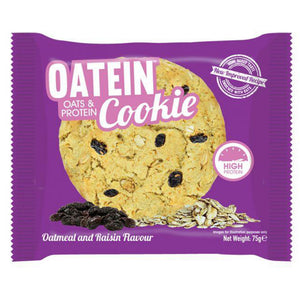 Oatein Oats & Protein Cookie - Oatmeal & Raisins - 75g