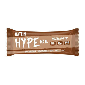 Oatein Hype Bar - Hazelnutty Protein Bar 60g