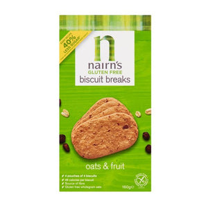 Nairns Biscuit Breaks Oats & Fruit - 160g