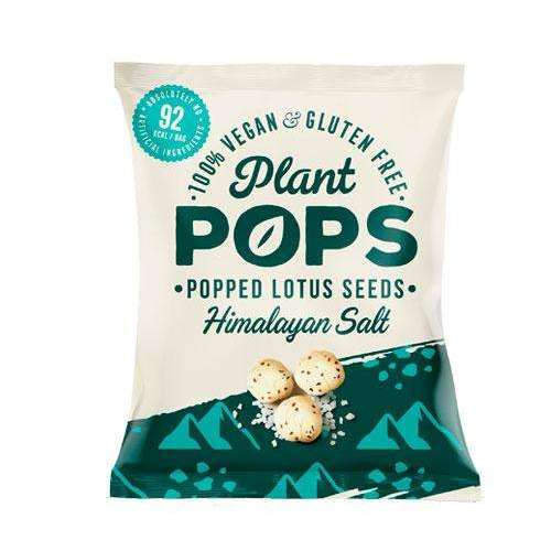 Plant Pops - Popped Lotus Seeds - Himalayan Salt - 20g