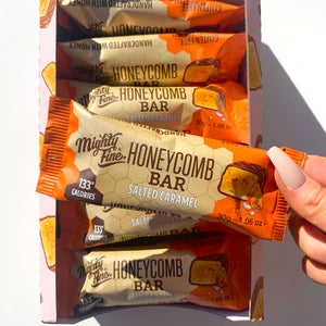 Mighty Fine Bar - Salted Caramel, Chocolate & Honeycomb - 30g
