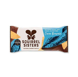 Squirrel Sisters - Cacao Brownie Raw Energy Bar - 40g