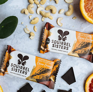 Squirrel Sisters - Cacao Orange Raw Energy Bar - 40g