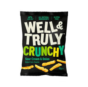 Well & Truly Impulse Sticks - Sour Cream & Onion - 30g