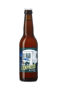 Bière Blonde l'Express - Brasserie du Grand Paris - 33 cl (x3)