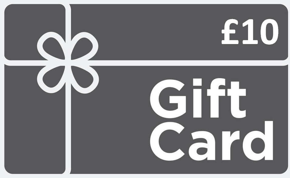 Gift Card £10 £25 £50 or £100 available