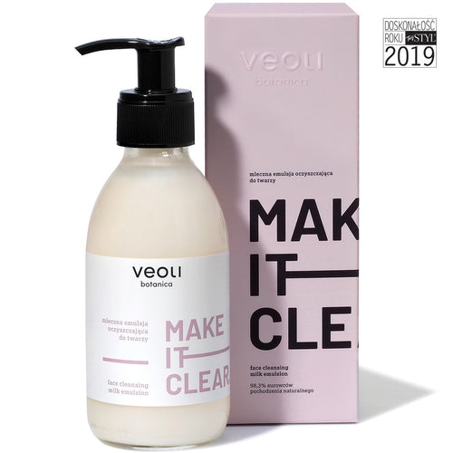 Veoli Botanica FACE CLEANSING MILK EMULSION