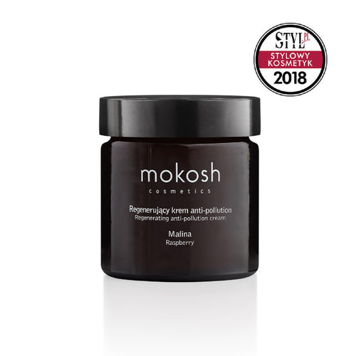 MOKOSH Regenerating Anti-Pollution Facial Cream Raspberry