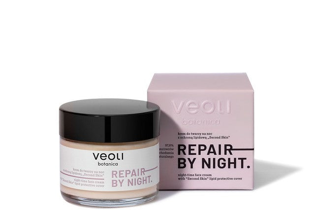 Veoli Botanica NIGHT-TIME FACE CREAM WITH THE SECOND SKIN LIPID PROTECTIVE COVER