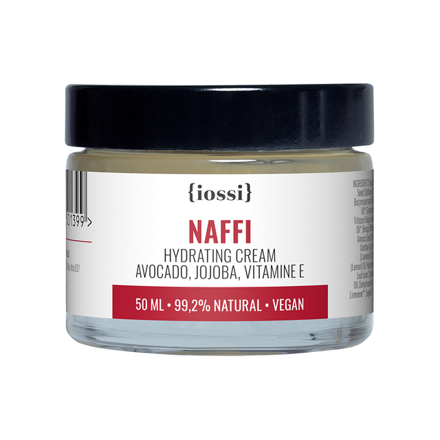 iossi NAFFI Hydrating Cream. Avocado, Jojoba, Vitamin E