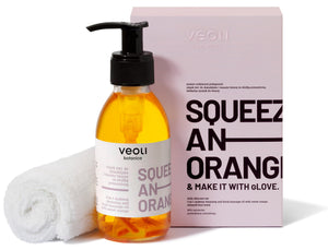 Veoli Botanica 2-IN-1 MAKEUP CLEANSING OIL WITH SWEET ORANGE