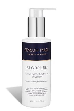 Sensum Mare ALGOPURE gentle emulsion for make-up removal.