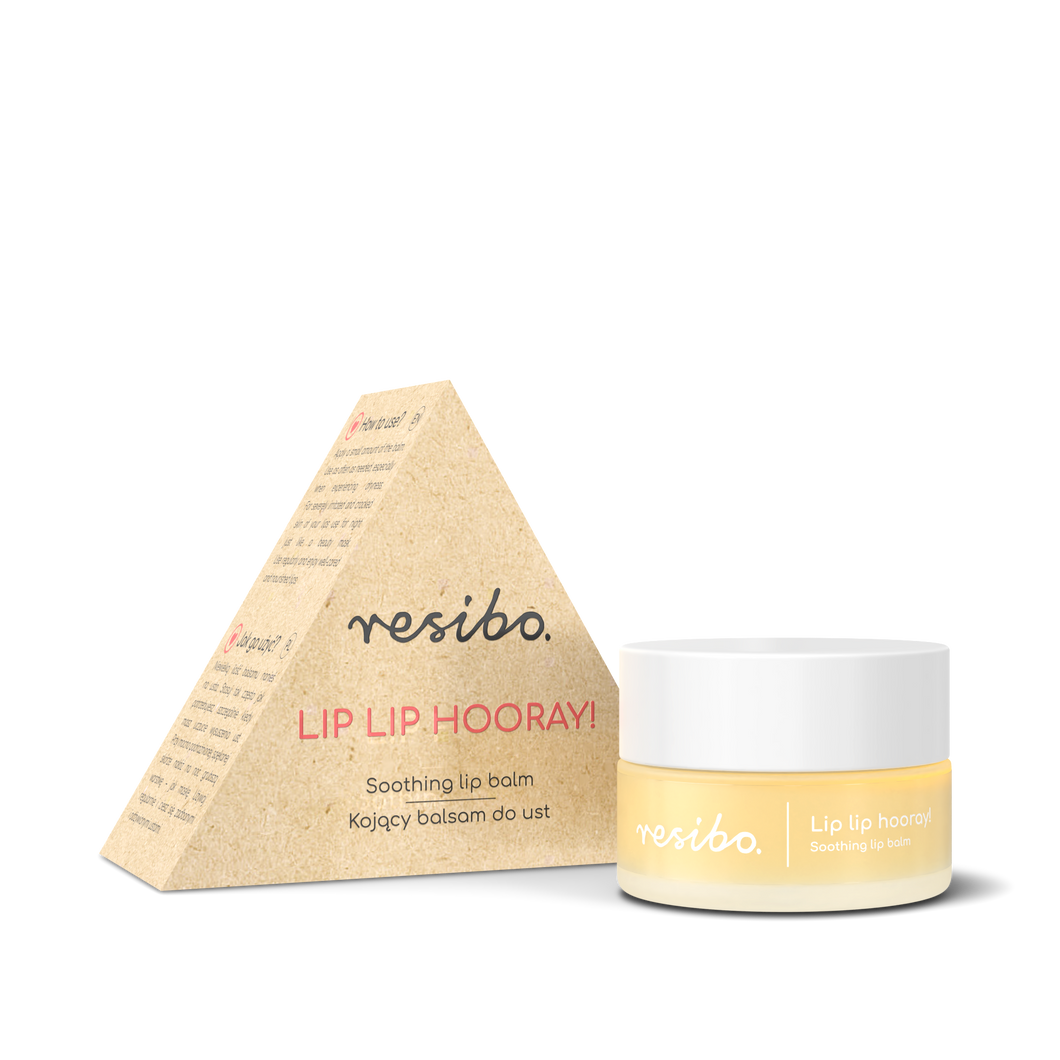 Resibo Soothing Lip Balm - LIP LIP HOORAY