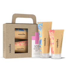 Load image into Gallery viewer, Resibo SOS Rescue Kit. SOS Rescue Cream & Natural Hand Lotion.