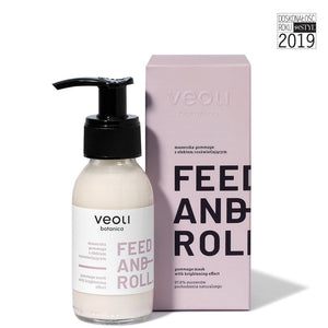 "Veoli Botanica Gommage Mask With Brightening Effect ""FEED AND ROLL"""