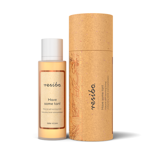Resibo Natural Self-Tanning Toner. Have Some Tan!