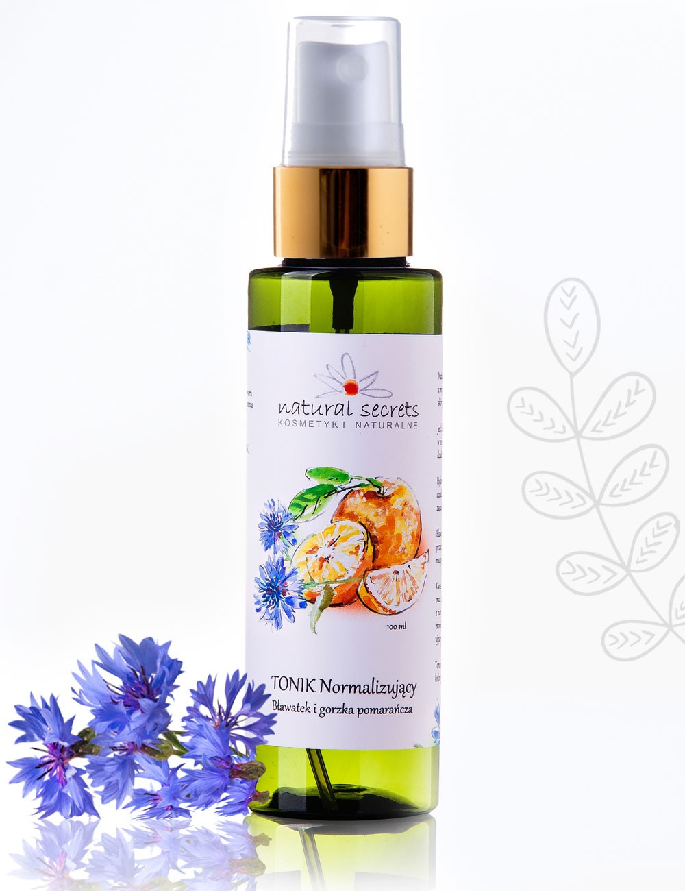 Natural Secrets Strengthening Toner - Cornflower & Bitter Orange