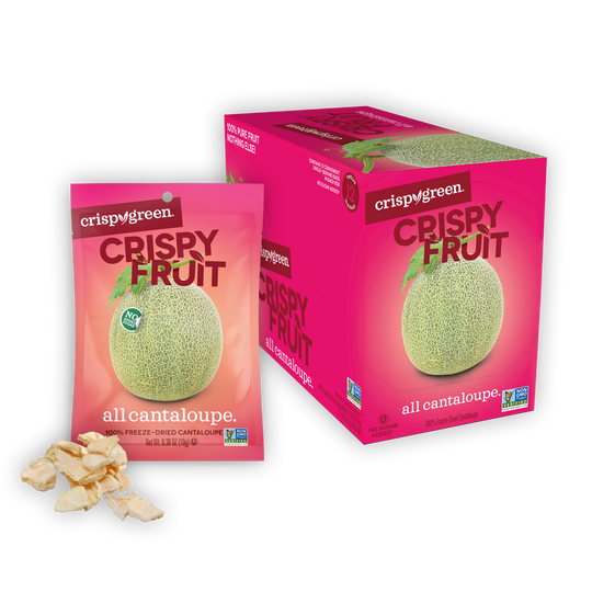 12 Count Crispy Fruit - Cantaloupe