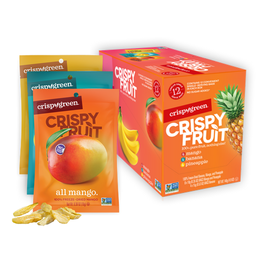 12 Count Variety Pack - Tropical (Mango, Banana, Pineapple)