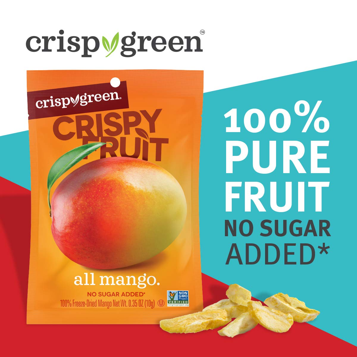 12 Count Crispy Fruit - Mango