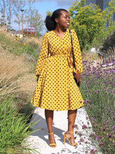Load image into Gallery viewer, Demi dress (yellow)
