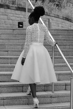 Load image into Gallery viewer, Flare skirt (white)
