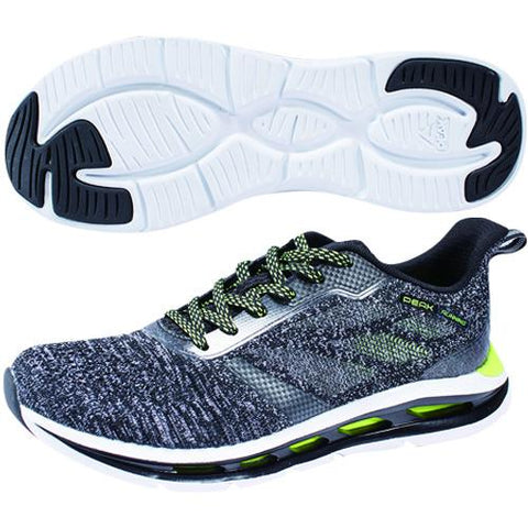 "Mens ""Fly"" Running Shoes - Grey Heather"