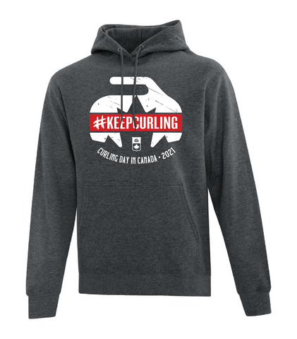 Curling Day In Canada - Hoodie